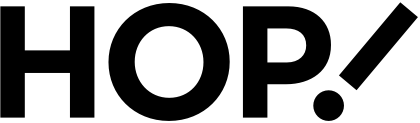 Hop! logotype